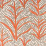 Ткань для штор SIMBATANGERINE Myanmar Prints Voyage Decoration