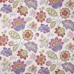 Ткань для штор LUMLEYVIOLET Print Folia 111 Warwick