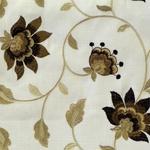 Ткань для штор WILDFLOWER 05 CINNAMON Botanical Gardens Galleria Arben