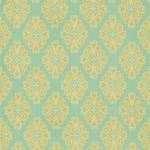 Ткань для штор Thibaut Montgomery Aqua F96014