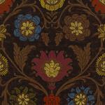 Ткань для штор Thibaut Buccini Dark Brown F96055