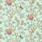 Ткань для штор Thibaut Papagayo Aqua F96060