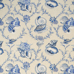 Ткань для штор Thibaut Sumba Shell Blue on Natural F95744