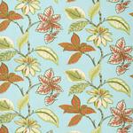 Ткань для штор Thibaut Lucala Blue and Pink F95749