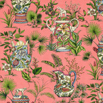 Ткань для штор Thibaut Tropical Fantasy Pink F95765