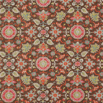 Ткань для штор Thibaut Mahal Chocolate F964133