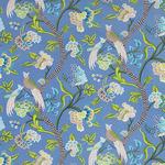 Ткань для штор Thibaut Janta Bazaar Blue F964158