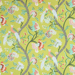 Ткань для штор Thibaut Janta Bazaar Citron Green F964162