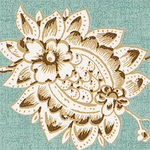 Ткань для штор F8416 Courtyard Thibaut