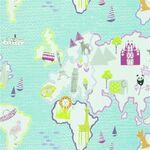 Ткань для штор F1825-02 Around The World Fabrics