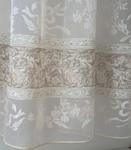 Ткань для штор 2910-3313 ORGANZA DEVORE MICROQUARTZ 60-1N Roma Decolux