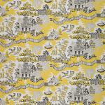 Ткань для штор Thibaut Luzon Grey-Lemon (F936109)