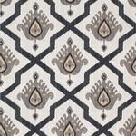Ткань для штор Thibaut Myamar Ikat Black (F936135)