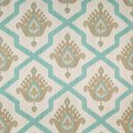 Ткань для штор Thibaut Myamar Ikat Aqua (F936137)