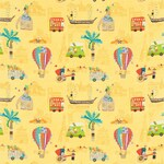 Ткань для штор 3203 Far Far Away Fabrics Harlequin