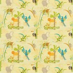 Ткань для штор 3206 Far Far Away Fabrics Harlequin