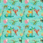 Ткань для штор 3208 Far Far Away Fabrics Harlequin