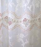 Ткань для штор 2910-3312 ORGANZA DEVORE MICROQUARTZ 60-6N Roma Decolux