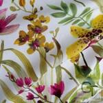 Ткань для штор ORCHIDEA C 08 Strawrose BC Fabrics