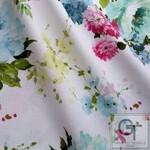 Ткань для штор BELLAMY C 02 Strawrose BC Fabrics