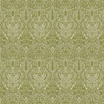 Ткань для штор Arabesque Green Bohemia Linen Jim Dickens