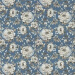 Ткань для штор Carousel Bloom Blue Carousel Jim Dickens