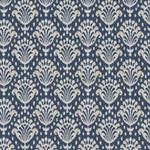 Ткань для штор Thibaut Thai Ikat Indoor-Outdoor Woven Navy W72784