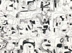 Ткань для штор K5137-02 Jon Burgerman Kirkby Design