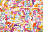 Ткань для штор K5137-03 Jon Burgerman Kirkby Design