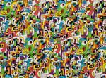 Ткань для штор K5140-07 Jon Burgerman Kirkby Design