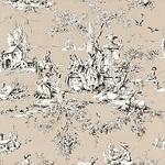 Ткань для штор F97342 Toile Portfolio Thibaut