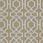 Ткань для штор Thibaut Alston Trellis Grey on Natural W713030
