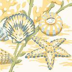 Ткань для штор F86703 Seaside Thibaut