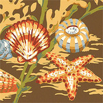 Ткань для штор F86706 Seaside Thibaut