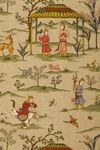Ткань для штор F98601 Shangri-La Thibaut