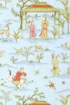 Ткань для штор F98603 Shangri-La Thibaut