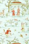 Ткань для штор F98604 Shangri-La Thibaut