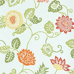 Ткань для штор F81169 Waterlily Thibaut