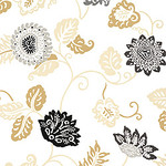 Ткань для штор F81170 Waterlily Thibaut