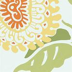 Ткань для штор F91169 Waterlily Thibaut