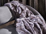 Покрывало THZ339-01A Blue Fox Throw Zinc